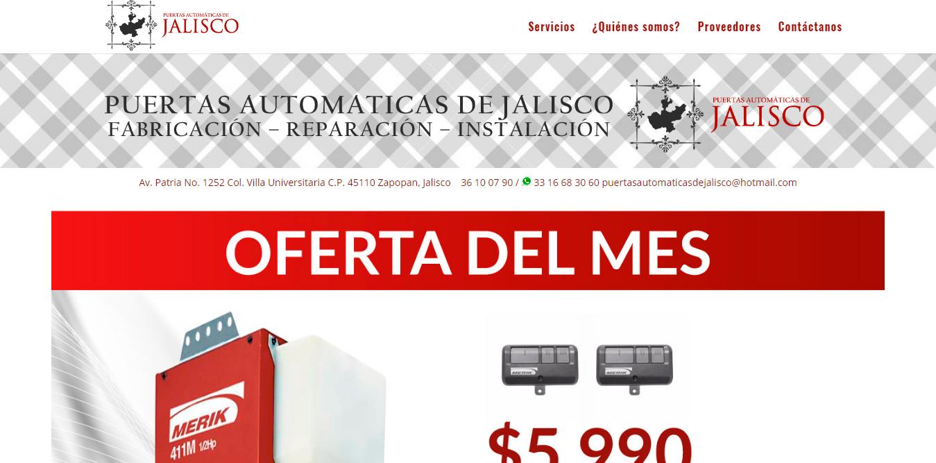 Puertas Automáticas de Jalisco
