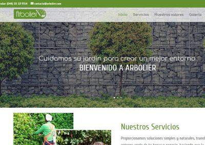 arbolier-pagina-web